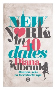 De cover voor New York in 40 dates